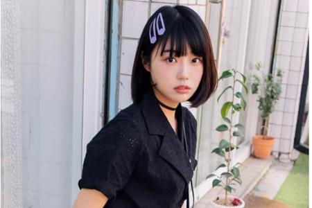 适合学生党的短发,可爱少女夏季适合的清爽发型