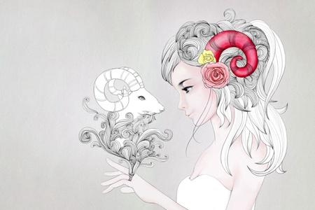白羊座女生八月爱情事业运势,增加勇气才有好运
