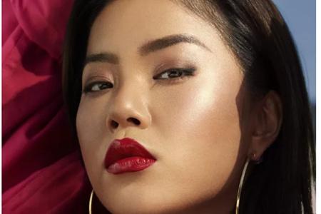 王菊代言FentyBeauty,强势妆容完美诠释欧美风