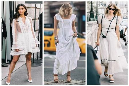 別再盲目跟風,夏秋時節適合穿搭小白裙,小仙女氣質明顯