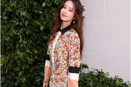 秋天的仙女连衣裙,颖儿、孙怡打造成熟可爱双面风格
