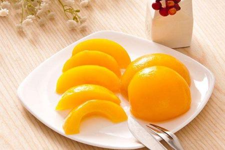 黄桃罐头怎么做,简易自制方法保存营养