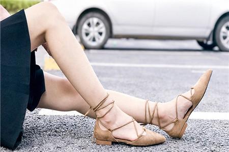 教你三個小秘訣,輕松利用平底鞋顯露大長腿