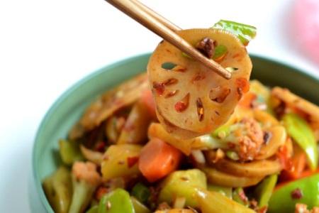 麻辣香锅的家常做法,全素锅也能吃的有滋有味