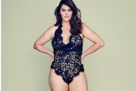 维密内衣签约大码模特,时尚届终于容得到下正常身材的女性