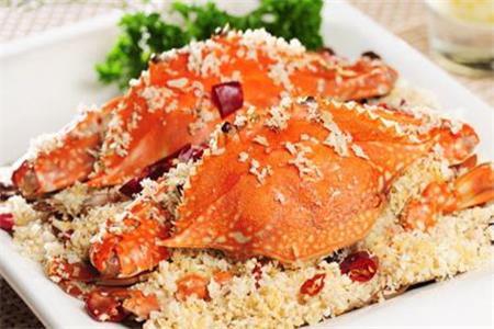 螃蟹怎么做好吃,正宗避风塘炒蟹的做法好吃到吮指