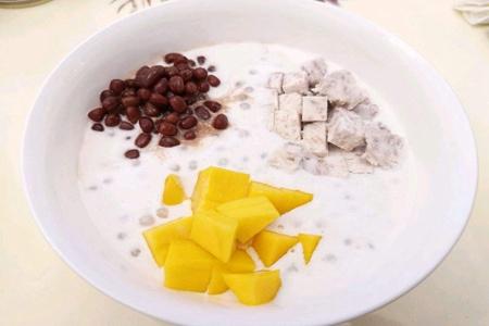 甜品中的西米怎么煮,Q弹软糯搭配牛奶太美味