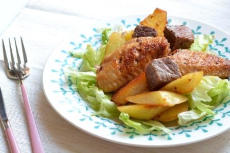 减肥餐:鸡翅怎么做好吃,把它加进去主食都省了