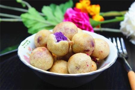 芋头的功效与作用,芋头怎么做好吃?香芋丸子绵软香糯
