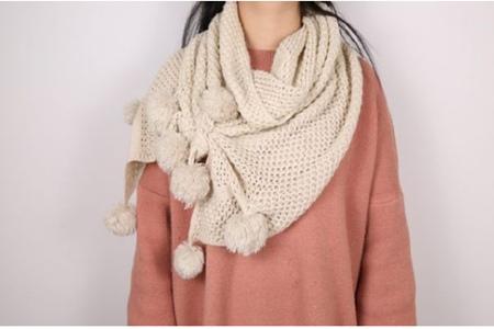 女生时尚围巾的各种围法,冬天一定要会系的八种方法