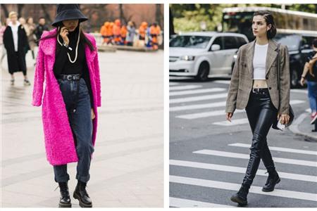 马丁靴搭配这五种裤子最显瘦,冬天女式马丁靴的穿搭方法