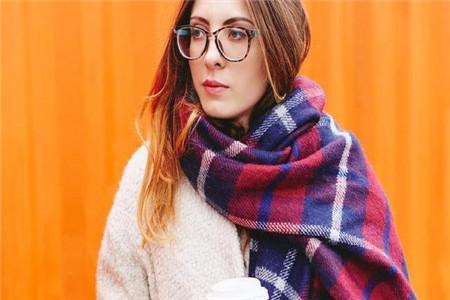 围巾的各种围法经典又时尚,冬天必备围巾系法技能