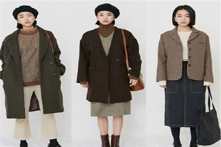 文艺范女生这个冬季穿搭的小心机,强调色彩搭配的重要性