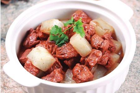 牛肉炖萝卜的做法,冬季滋补牛肉家常开胃菜