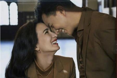 韩庚夫妻婚后合体首次上封,卢靖姗晒短发造型