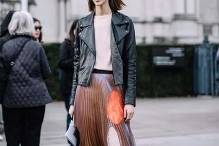 秋冬裙子这样混搭穿,让你称霸街头所有视觉