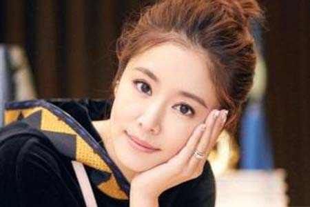 林心如公主头造型优雅又知性,40岁依然可以美如少女