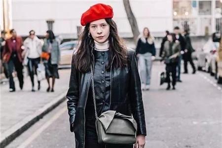 贝雷帽修饰脸型,怎么选择款式才够精致 款式 脸型 贝雷帽 服饰搭配  第3张