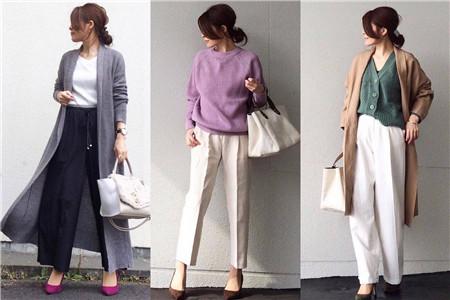 职业女性的流行服饰穿搭风格,美丽靠衣装搭配
