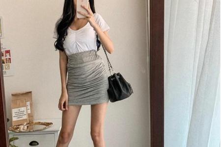 性感包臀裙穿出好身材,女生一定要避开这五个雷点 女生 身材 包臀裙 服饰搭配  第3张