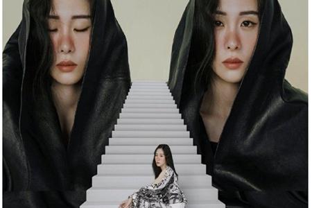 张碧晨化妆