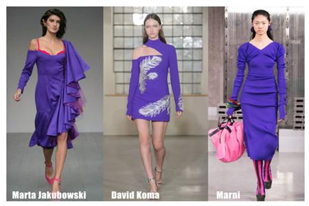 2019年流行色彩搭配设计,紫色