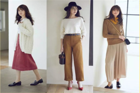 秋冬新款流行服饰穿搭技巧,四套的穿搭设计高档有品位