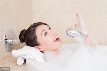 错误一:浴缸里的水温太高
