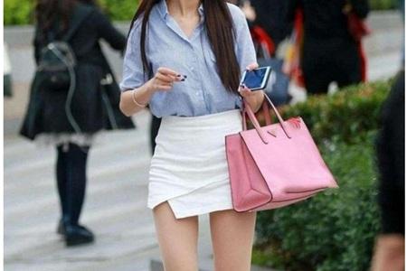 美女穿丝袜搭配裙子优雅迷人,秀美腿五种穿搭指南