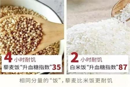 藜麦米的功效与作用