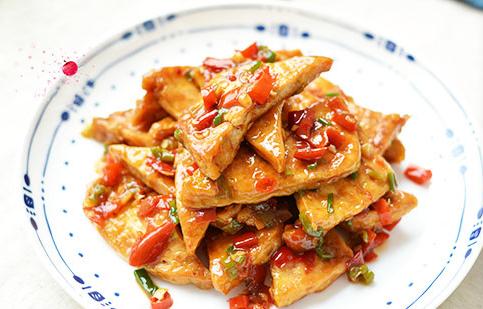 比铁板豆腐更入味的嫩豆腐 超级下饭