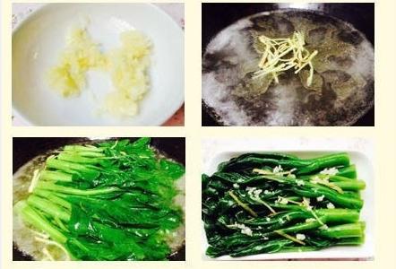白灼菜和糖醋手撕包菜的正确做法
