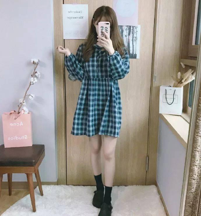 日系少女穿搭 甜美清纯绝对是宅男的最爱