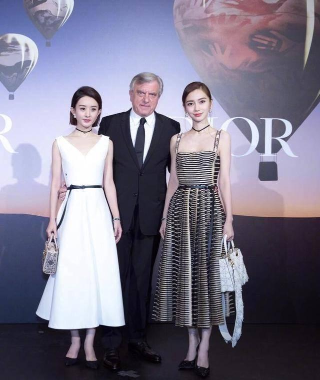 赵丽颖、Angelababy同台亮相Dior开幕仪式,粉丝又双叒叕掐上了