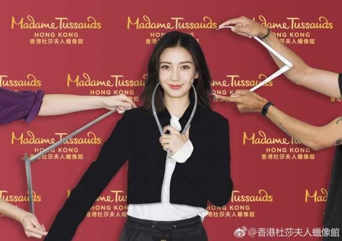 Angelababy(杨颖)2018年将是首位入驻香港杜莎夫人蜡像馆