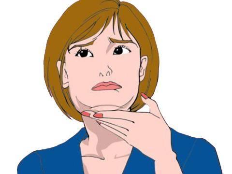 女人如何告别双下巴,四