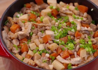 鸡肉什锦饭 营养又美味