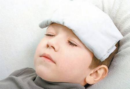 孩子如果发烧,记得不能再让吃这些东西