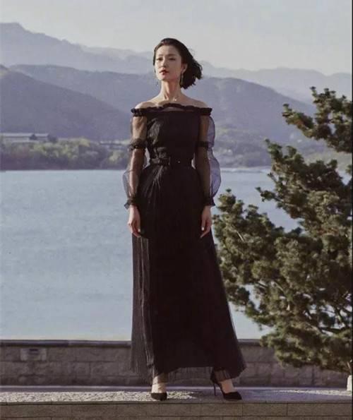 纱裙飘飘有多仙,看杜鹃就知道了