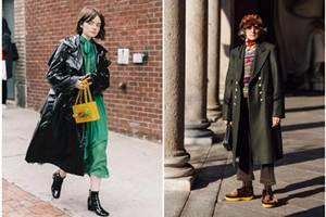 秋冬御寒也要时尚满分,教你保暖长外套怎么搭配