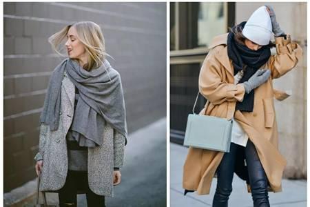 女生需要这条百变围巾,让冬日充满时尚气息
