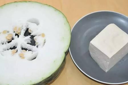 酸甜口的冬瓜豆腐丸,美味养颜最适合女性