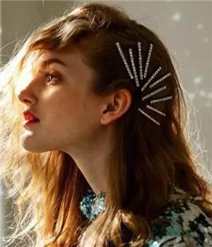 打造精致的新发型,少不了女生喜欢的这两款发饰