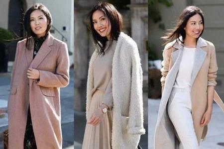 职场穿搭最全攻略,上班女性的冬季大衣搭配