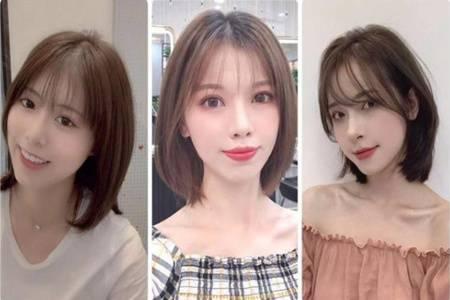 开学季女生初恋发型大全,六款流行减龄发型图片