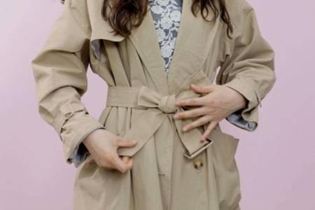 大衣蝴蝶结的打法大全,淑女必不可少的六种绑带方法