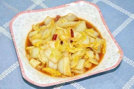 醋溜白菜的家常做法,吃醋熘白菜真的可以减肥吗?
