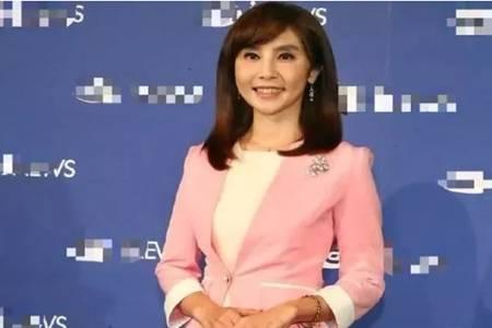 51岁女主持人黃倩萍出轨小鲜肉,曝光后承认已结婚3年