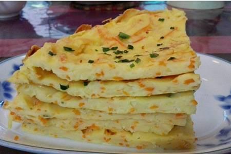 柔软鸡蛋饼的四种做法,早餐鸡蛋香软营养高