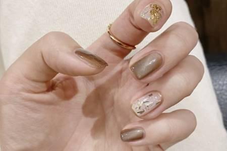 美甲图片2020新款式,短指甲女生适合的美甲造型